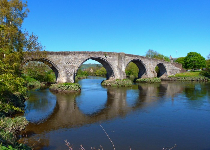 Stirling Old Bridge, Battle of Stirling Bridge