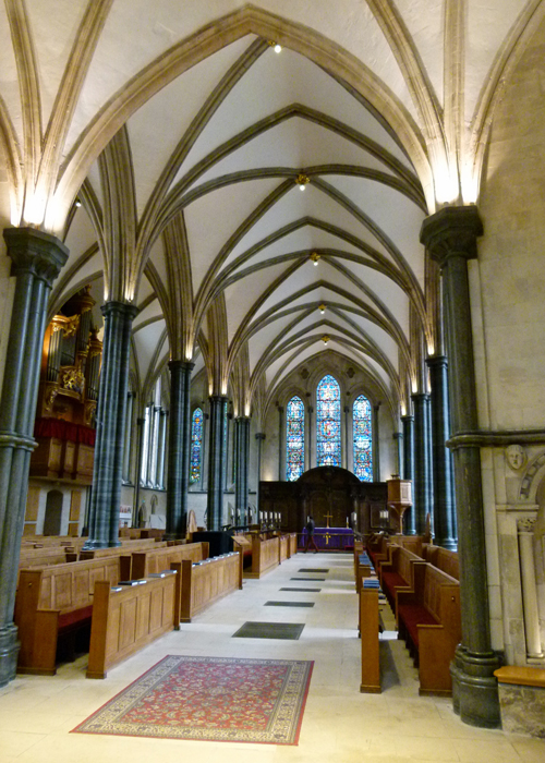 Temple Church, oblong church, London, Inner Temple