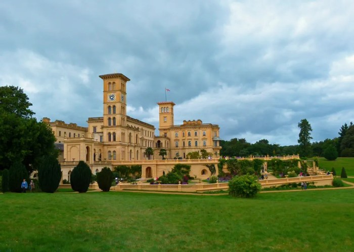 Osborne House, visit Isle of Wight, terraces