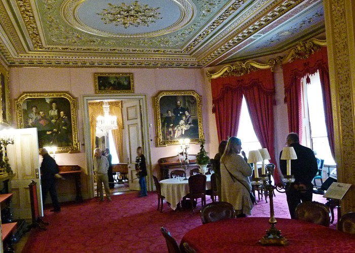 Dining, Osborne House, visit Isle of Wight