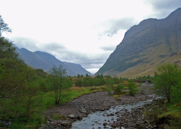 River Coe, Glen Coe, visit Scotland