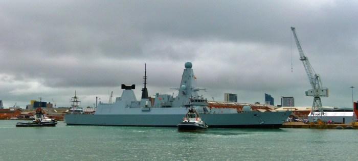 HMS Diamond, Royal Navy ships, Portsmouth