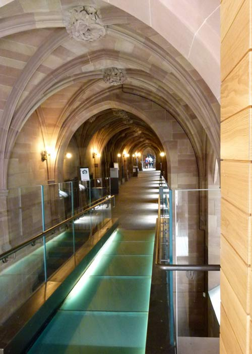 John Rylands, library extension, Manchester