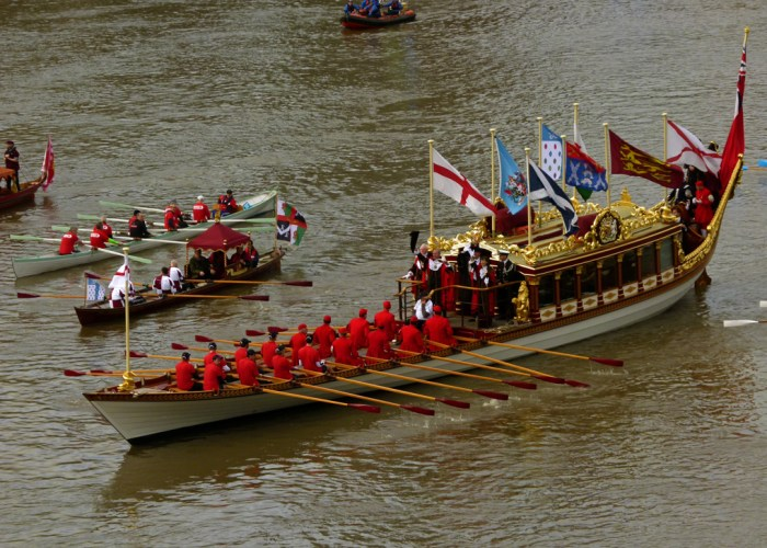 Royal Barge, Gloriana, Lord Mayor's Show, London
