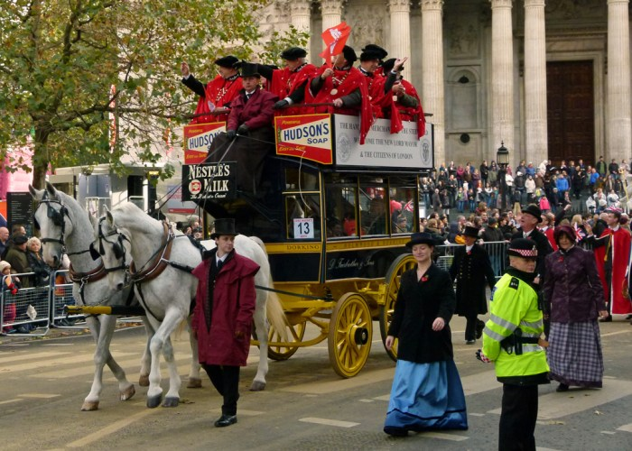 Omnibus, Lord Mayor's Show, City of London