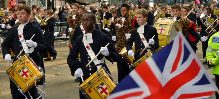 Christ's Hospital Scool Band, Lord Mayor's Show