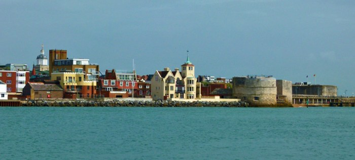 Portsmouth, Tudor, Round Tower, Square Tower