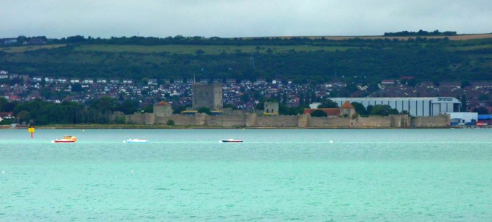 Portchester Castle, Portsmouth Harbour