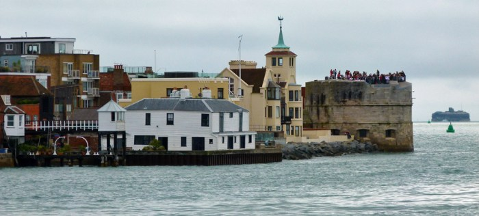 Round Tower, Spitbank, Portsmouth, Forts
