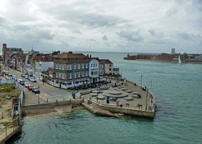 Point, Spice Island, Still & West, Old Portsmouth