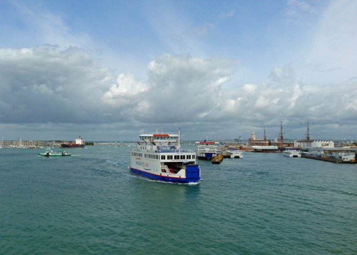 Portsmouth Harbour entrance, visit Portsmouth