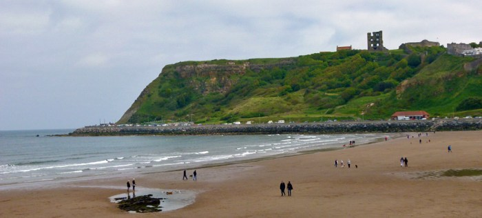 Scarborough Castle, North Bay, Yorkshire