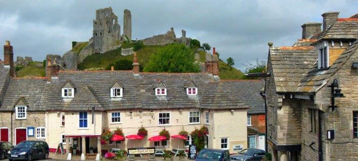 Favourite British Castles, Corfe Castle, Dorset