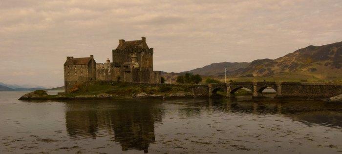A moody Eilean Donan Castle, Scotland