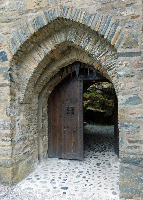 Castle gate, Eilean Donan