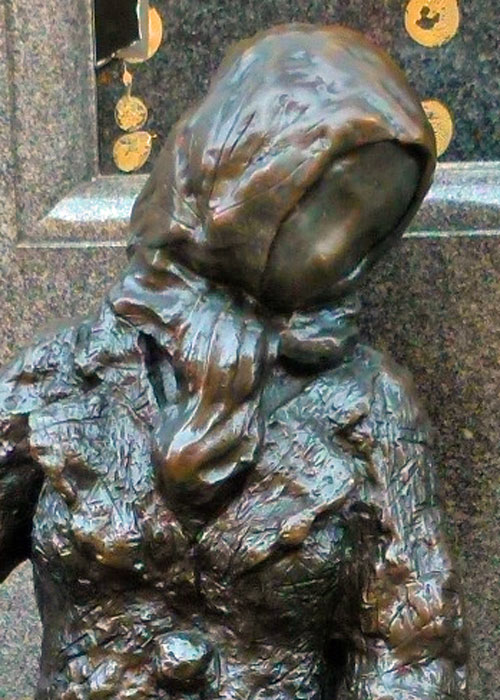 Eleanor Rigby, no face
