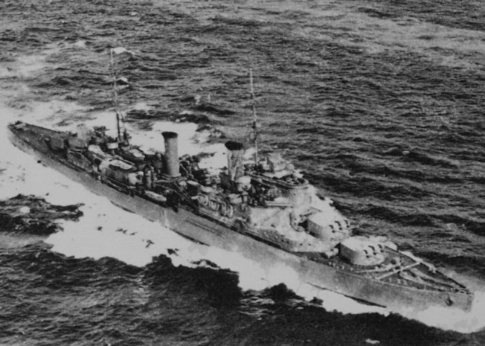 HMS Fiji, Battle for Crete