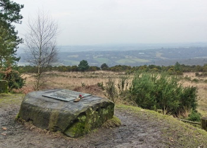 Galleons Lap, Enchanted Place, Winnie-the-Pooh, Ashdown Forest