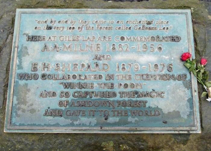 Memorial, AA Milne, EH Shepard