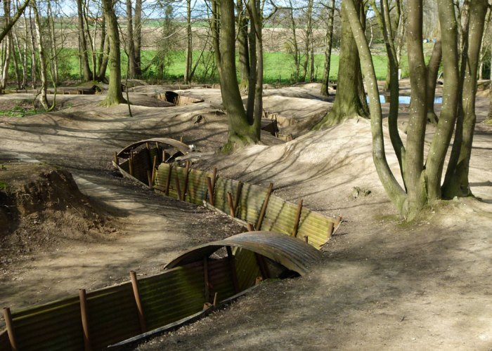 Ypres, preserved trenches, Sanctuary Wood