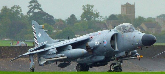 Fleet Air Arm, British Aerospace Sea Harrier