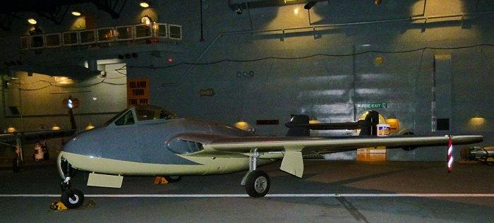 Fleet Air arm, de Havilland Sea Vampire Mk 1