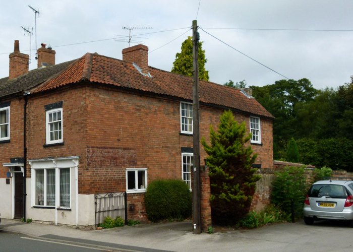 First Bramley seedling, Church Street, Southwell