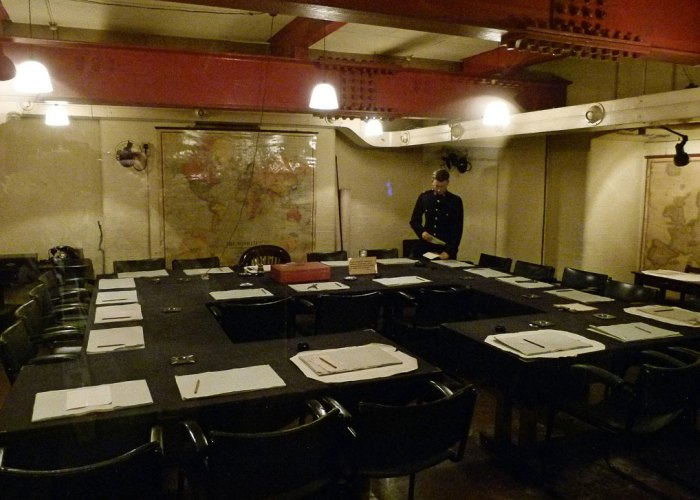 Cabinet War Rooms, Churchill Museum, London