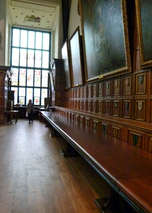 Middle Temple Hall, Bench Table