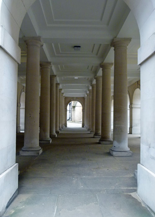 Cloisters, Pump Court, Temple, London