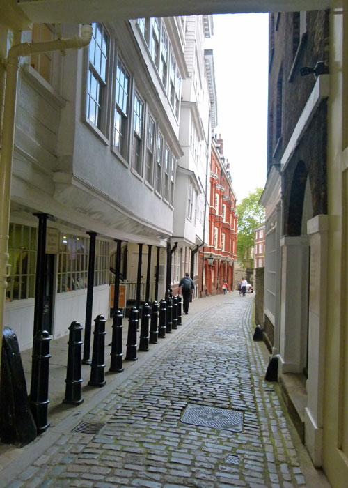 Middle Temple, Lane, Fleet Street