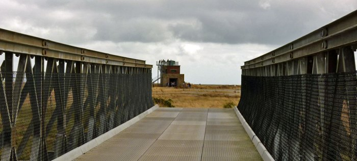 Orford Ness, Bailey Bridge, Bomb Ballistics