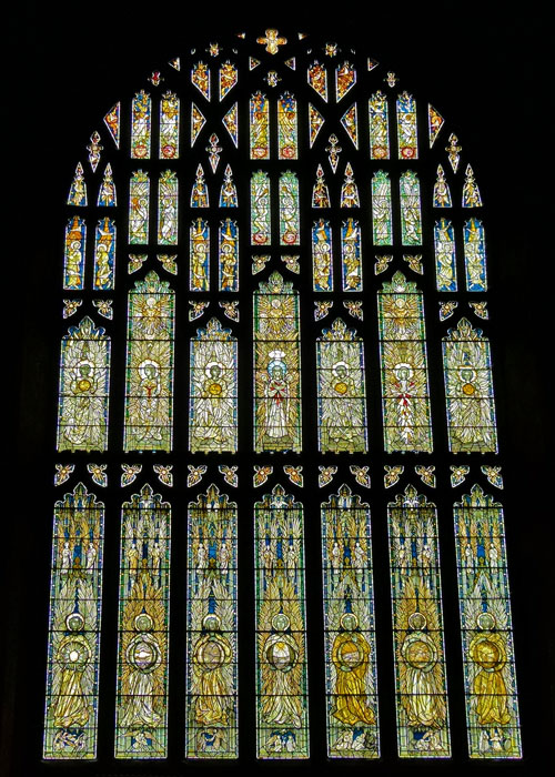 Southwell Minster, Angel Window
