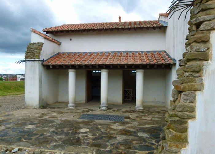 Arbeia, courtyard house
