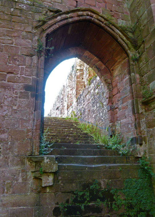 Night stairs, Furness Abbey