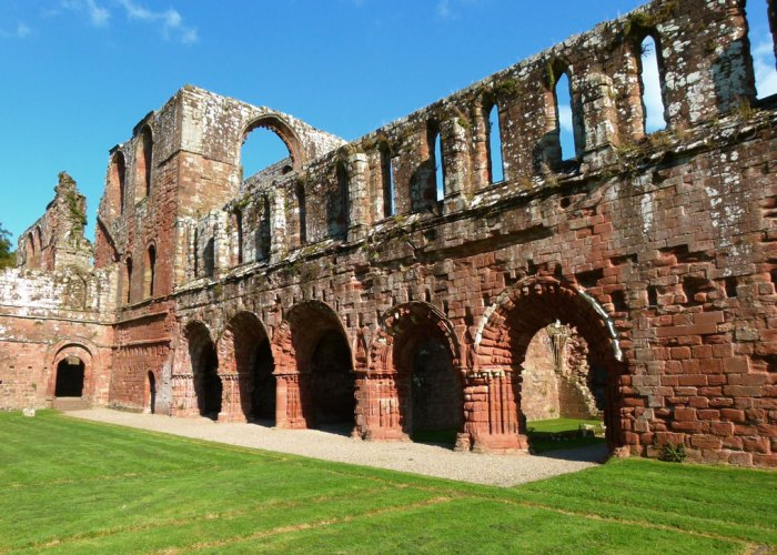 Cloister, Furness Abbey