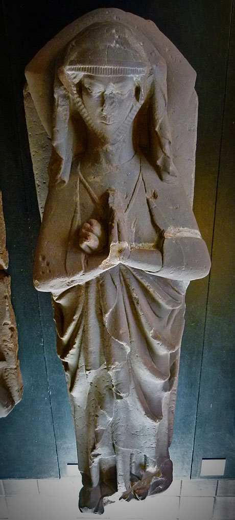 Effigy of a lady, Furness Abbey