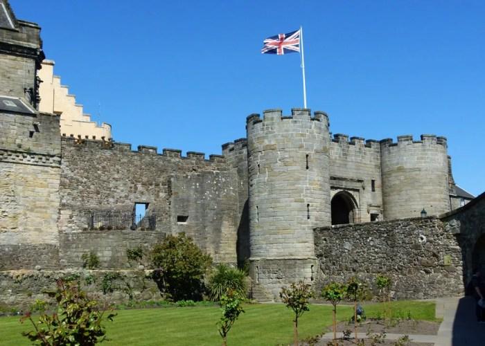 Stirling Castle, Queen Anne Garden