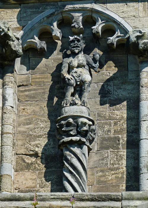 Stirling Sculptures, devil