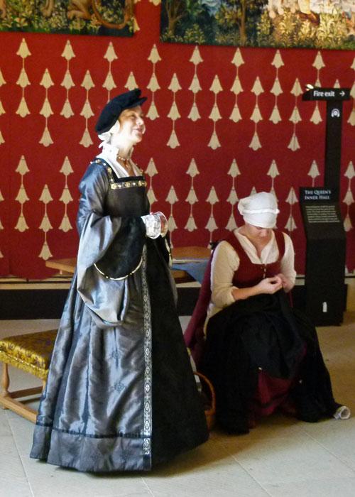 Staff at Stirling Castle
