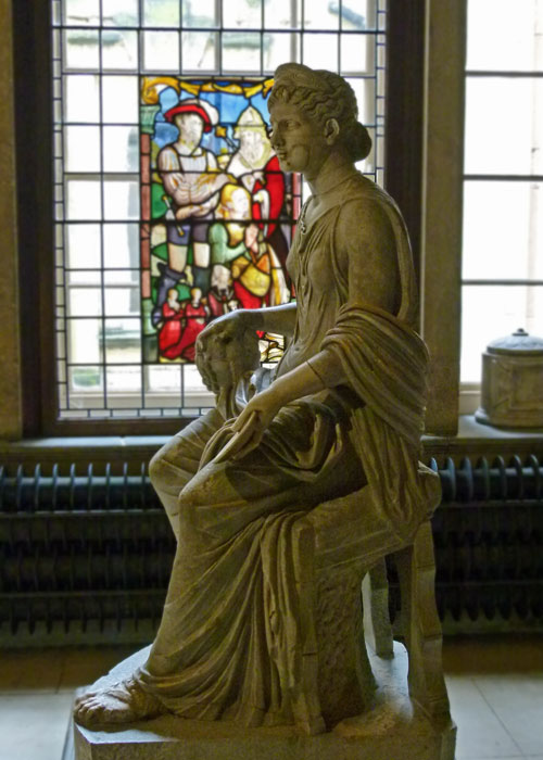 Goddess Fortuna, Castle Howard