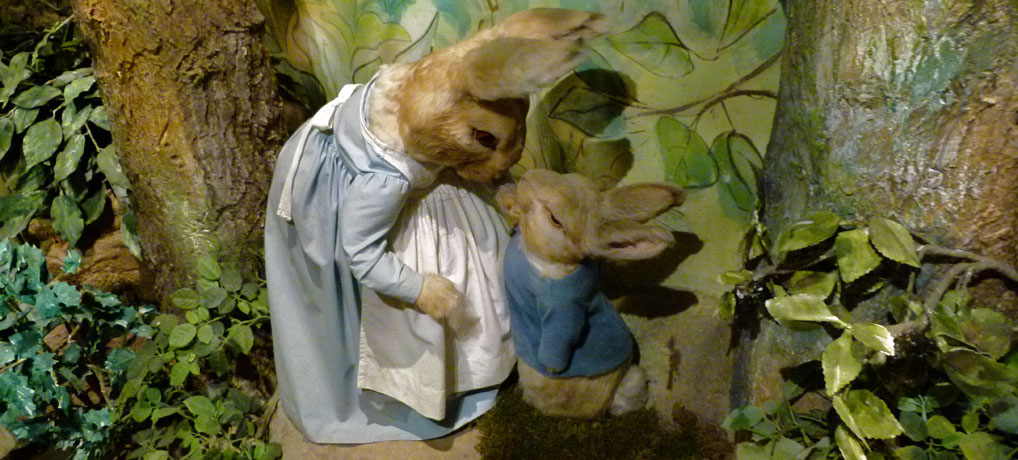 From garden to plate - a helping of Peter Rabbit