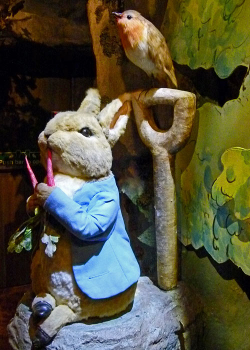 Peter Rabbit, World of Beatrix Potter, Bowness