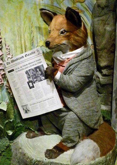 Mr Tod, fox, Jemima Puddle-Duck