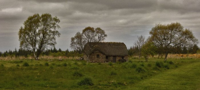 Leanach Cottage, Culloden, battle, Jacobites