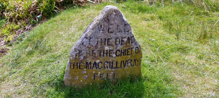 Well of the Dead, McGillivrays, Culloden