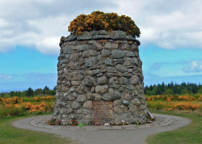 Culloden, Memorial Cairn, National Trust for Scotland