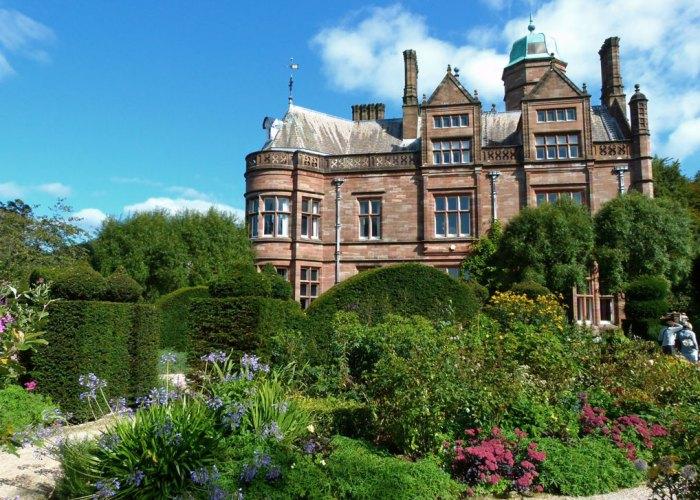 Holker, gardens, Cumbria