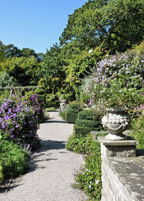 Holker Hall, gardens in Cumbria