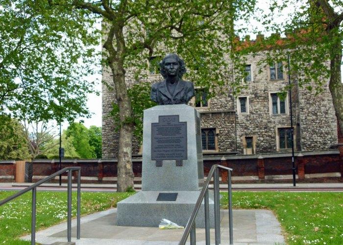 SOE, memorial, London, secret London